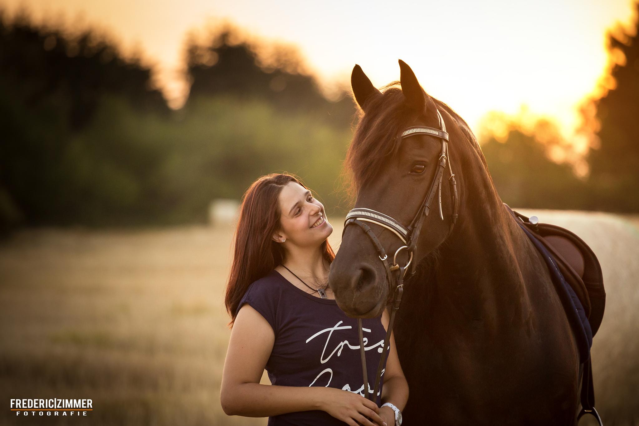 Pferd & Mensch Fotoshooting